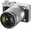 Nikon - J5 Mirrorless Camera with NIKKOR 10-100mm f/4-5.6 VR Lens - Silver