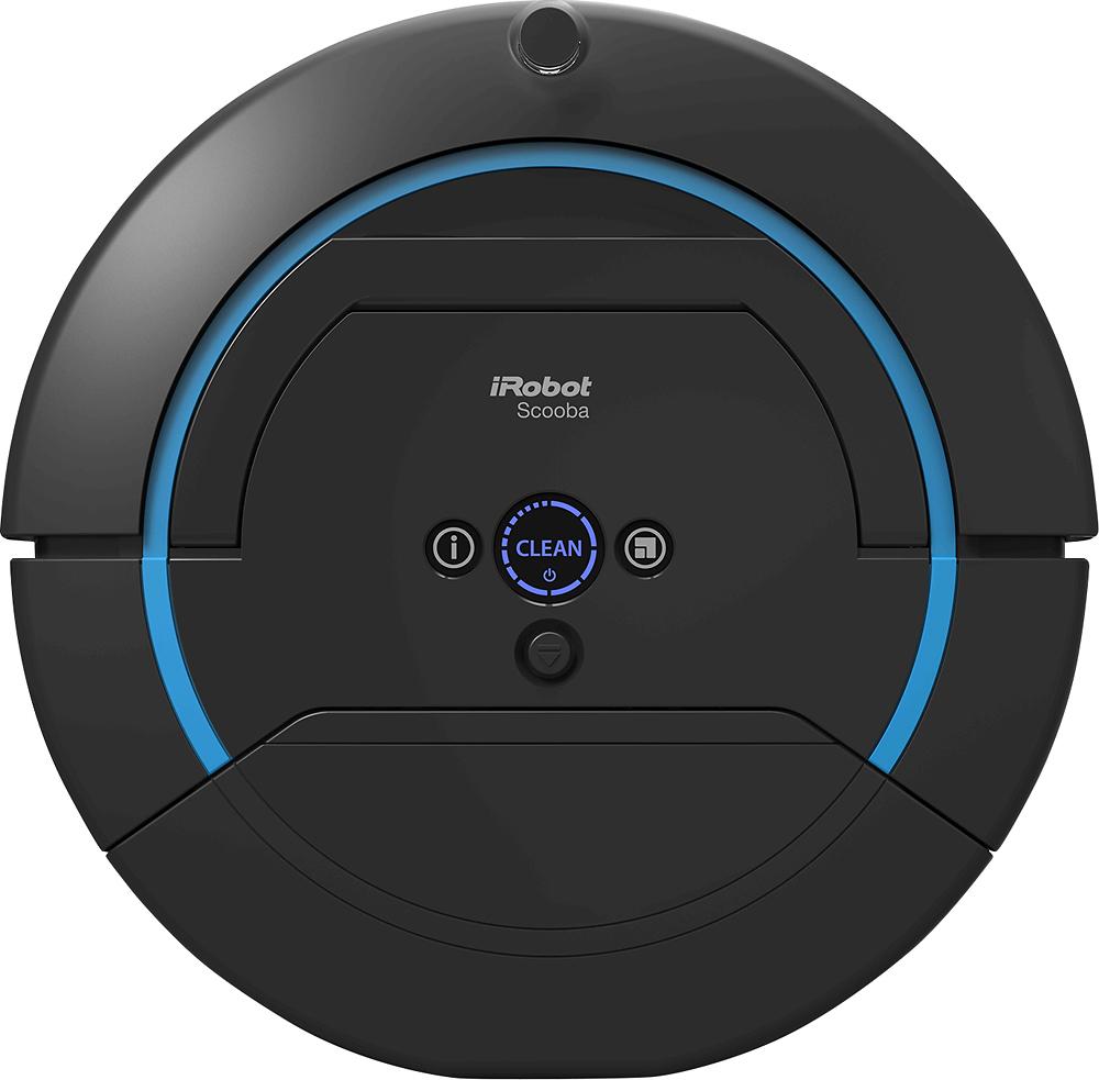 iRobot - Scooba 450 Floor-Scrubbing Robot - Black