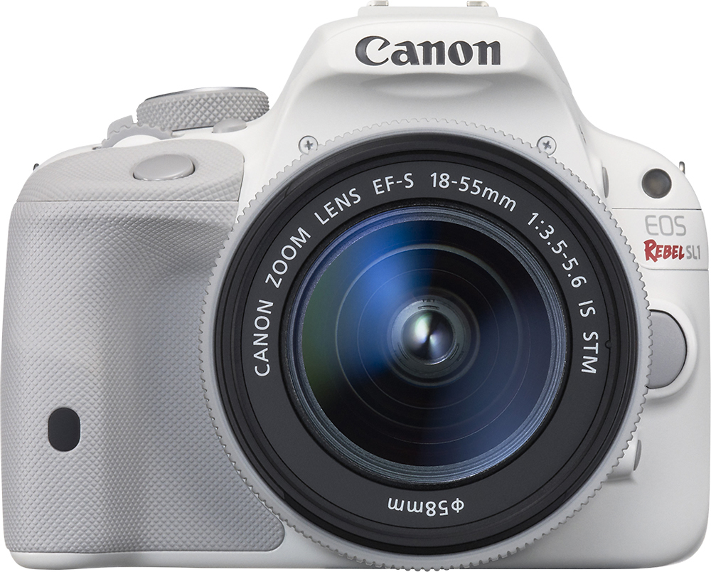 Canon EOS Rebel SL1 DSLR Camera with EF-S 18-55mm f/3.5-5.6 IS ...