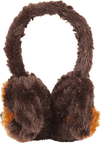 ReTrak - Animalz Dog Over-the-Ear Headphones - Brown