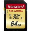 Transcend - 64 GB Secure Digital Extended Capacity (SDXC)