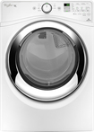 Whirlpool - Duet 7.4 Cu. Ft. 9-Cycle Steam Electric Dryer - White