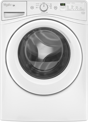 Whirlpool Duet 4.2 Cu. Ft. 8-Cycle High-Efficiency Front-Loading Washer White WFW72HEDW