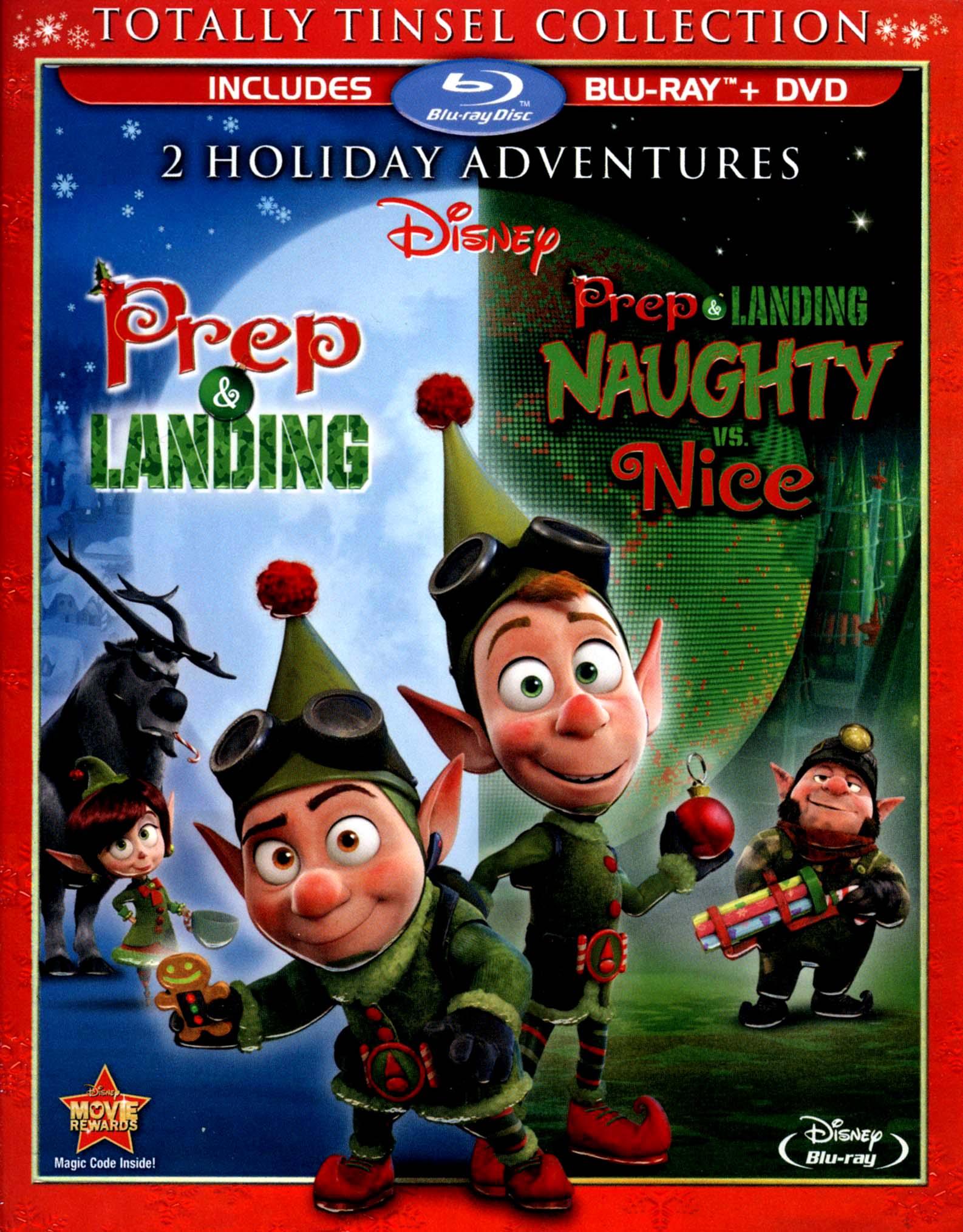 Prep & Landing/prep & Landing: Naughty Vs. Nice [2 Discs] [blu-ray/dvd] 6410077