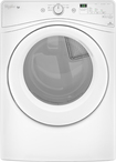 Whirlpool - Duet HE 7.4 Cu. Ft. 6-Cycle Gas Dryer - White