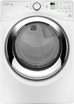 Whirlpool - Duet 7.4 Cu. Ft. 9-Cycle Steam Gas Dryer - White
