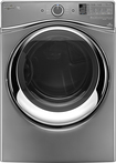 Whirlpool - Duet 7.4 Cu. Ft. 10-Cycle Steam Gas Dryer - Chrome Shadow