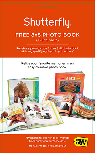 Shutterfly - $29.99 Credit for 8 x 8 Photo Book