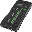 Monster Cable - GreenPower 8-Outlet Surge Protector