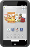 Barnes & Noble - NOOK HD - 8GB - Smoke