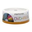 Memorex - DVD Rewritable Media - DVD RW - 4x - 4.70 GB - 25 Pack Spindle