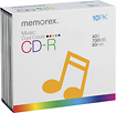 Memorex - CD Recordable Media - CD-R - 40x - 700 MB - 10 Pack