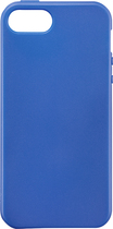 Rocketfish™ Mobile - Soft Shell Case for Apple® iPhone® 5 and 5s - Blue