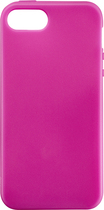 Rocketfish™ Mobile - Soft Shell Case for Apple® iPhone® 5 and 5s - Pink