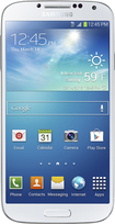 T-Mobile Prepaid - Samsung Galaxy S 4 4G No-Contract Cell Phone - White Frost