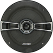 "Kicker - KS Series 6-1/2"" 2-Way Coaxial Car Speakers with Polymer Cones (Pair) - Black"
