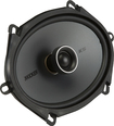 "Kicker - KS Series 6"" x 8"" 2-Way Coaxial Car Speakers with Polymer Cones (Pair) - Black"