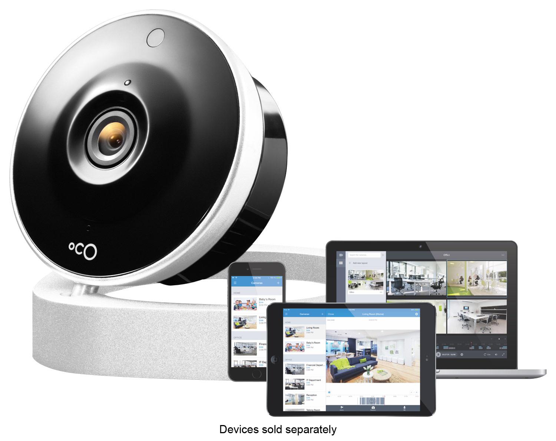 Oco - Wireless High-Definition Video Monitoring Smart Camera - Silver