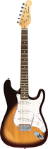 Jay Turser - 6-String Full-Size Double-Cutaway Electric Guitar - Maple