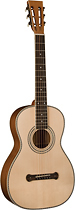 Oscar Schmidt - 6-String Parlor-Size Acoustic Guitar - Natural