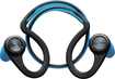 Plantronics - BackBeat Fit Water and Sweat-proof Bluetooth Stereo Headphones - Blue/Black