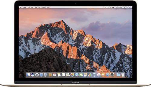 Apple - Macbook® (Latest Model) - 12 Display - Intel Core M3 - 8GB Memory - 256GB Flash Storage - Gold