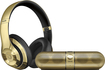 Beats by Dr. Dre - Pill 2.0 Portable Bluetooth Speaker and Beats Studio Wireless Headphones - Gold