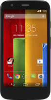 Motorola - Moto G with 16GB Memory Cell Phone (Unlocked) (U.S. Version) - Black