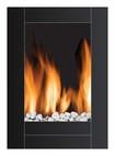 Frigidaire - Electric Fireplace - Black