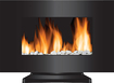 Frigidaire - Vienna Color Changing Electric Fireplace - Black