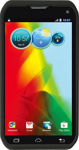 Rocketfish™ - Snap-On Case for Motorola Photon Q Mobile Phones - Black