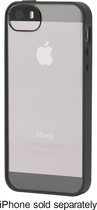 Griffin Technology - Reveal Case for Apple® iPhone® 5 and 5s - Black