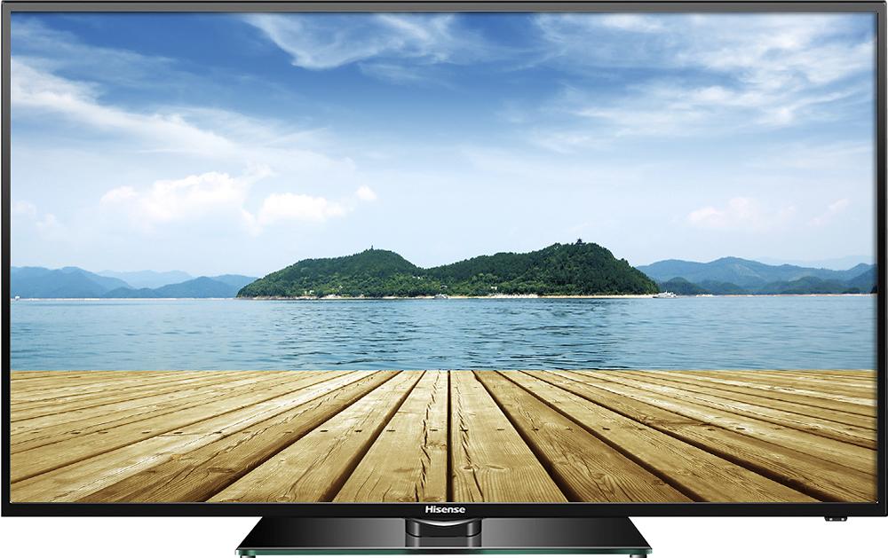 """Hisense - 50"""" Class (49-1/2"""" Diag.) - LED - 1080p - HDTV - Black"""