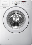 Samsung - 3.6 Cu. Ft. 9-cycle High-efficiency Front-loading Washer With Steam - White