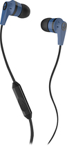 Skullcandy - Ink'd 2 Earbud Headphones - Blue/Black