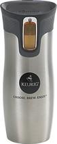 Keurig - Stainless-Steel Travel Mug - Silver