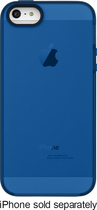 Belkin - Grip Candy Sheer Case for Apple® iPhone® 5 and 5s - Blue/Gray