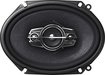 "Pioneer - 6"" x 8"" 4-Way Coaxial Speakers with Mica Matrix Cones (Pair) - Black"