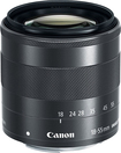 Canon - EF-M 18-55mm f3.5-5.6 IS STM Standard Zoom Lens - Black