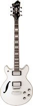 Hagstrom - Deuce-F 6-String Full-Size Electric Guitar - White