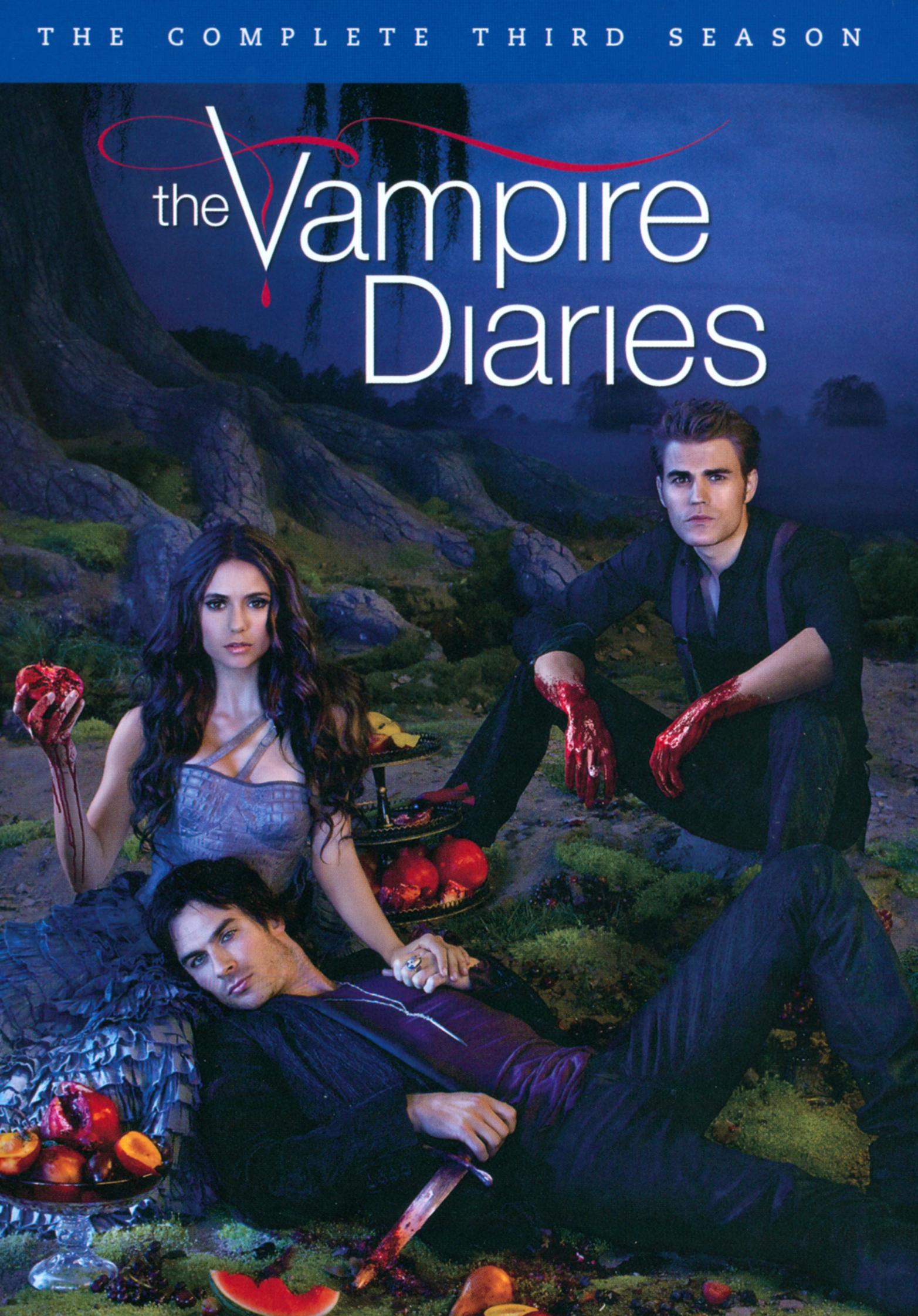 The Vampire Diaries: The Complete Third Season [5 Discs] (dvd) 6502535