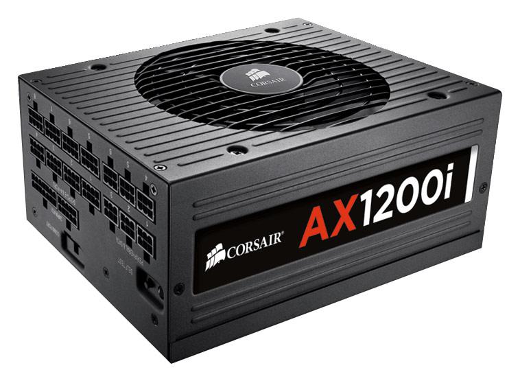 Corsair - AX1200i Digital ATX Power Supply - Black