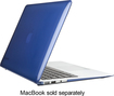 "Speck - SeeThru Case for 13"" Apple® MacBook Air® - Cobalt Blue"