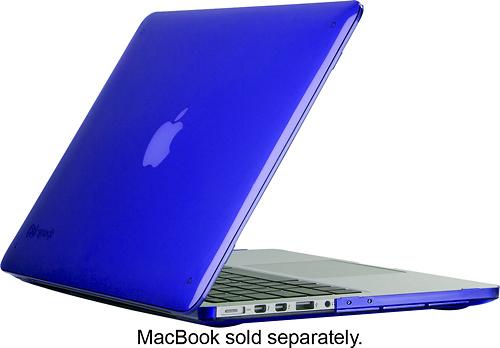 "Speck - SeeThru Case for 13"" Apple® MacBook® Pro with Retina display - Cobalt Blue"