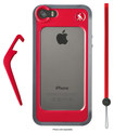 Manfrotto - KLYP+ Bumper Case and LED for Apple® iPhone® 5 and 5s - Red