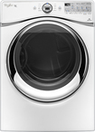 Whirlpool - Duet 7.4 Cu. Ft. 10-Cycle Steam Gas Dryer - White
