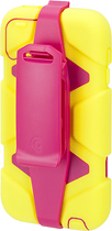 Griffin Technology - Survivor Case for 5th-Generation Apple® iPod® touch - Citron/Pink