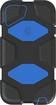 Griffin Technology - Survivor Case for 5th-Generation Apple® iPod® touch - Black/Blue