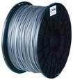BuMat - 1.75mm PLA Filament - Silver
