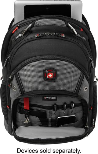 SwissGear Synergy Laptop Backpack Gray GA-7305-14F00 - Best Buy